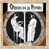 tirage de l'oracle de la pythie de Delphes