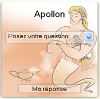 tirage de l'oracle d'Apollon