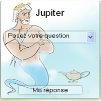 tirage de l'oracle de Jupiter