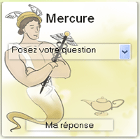 tirage de l'oracle de Mercure