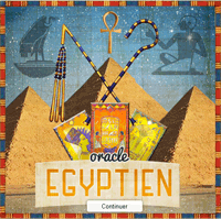 tirage de l'oracle egyptien