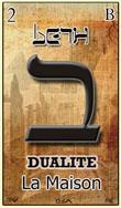 beth une des cartes du tarot hebraique