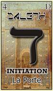 daleth qest la quatrieme carte du tarot hebraique