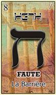 heth importante carte du tarot hebraique