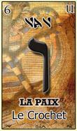 vav une des cartes du tarot hebraique