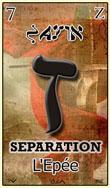 zayin carte du tarot divinatoire hebraique